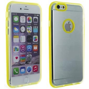 coque silicone jaune iphone 6