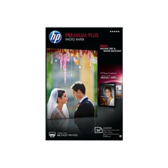 HP Premium Plus Photo Paper - papier photo - 50 feuille(s)