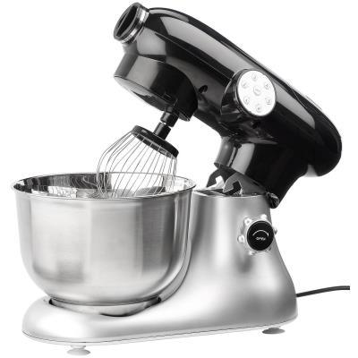 Rosenstein & Sohne KM-6618 - Robot pâtissier - 1200 Watt - argent/noir