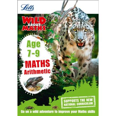 Maths - Arithmetic Age 7-9 (Letts Wild About) (Paperback)