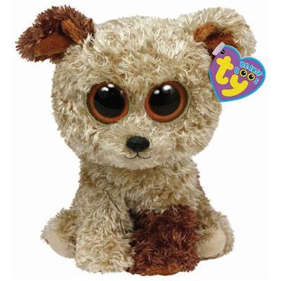 Ty – Beanie Boos – Rootbeer le Terrier – Peluche 14 cm