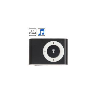 lecteur baladeur MP3 Noir Micro-SD Clip