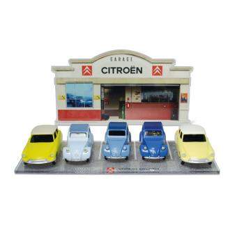 Minialuxe voiture miniature en zamac 1 43 coffret garage citro n voiture achat prix fnac - Garage miniature citroen ...