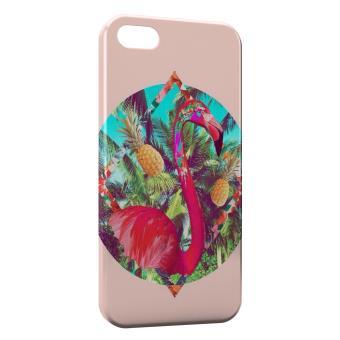 coque iphone 5 flamant rose