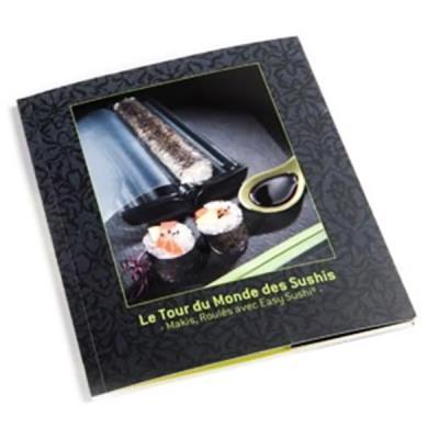 Livre de recettes LE TOUR DU MONDE DES SUSHIS