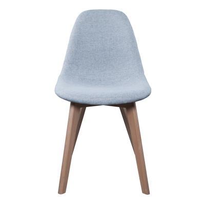 Chaise scandinave - Tissu - Gris