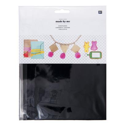 Cuir synthétique - Kit Black - A5 - 5 pcs