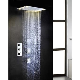 robinet de douche thermostatique avec t te de douche. Black Bedroom Furniture Sets. Home Design Ideas