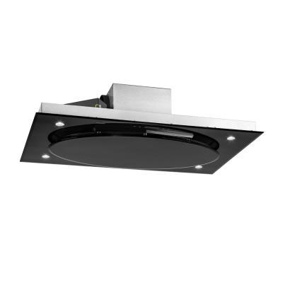 Klarstein Secret Service - Hotte - plafond - largeur : 110 cm - profondeur : 70 cm - noir