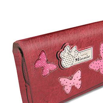 Rouge Karactermania Minnie Mouse Marfly-billetero Sweet Largo Porte-Monnaie Marfly 16 cm