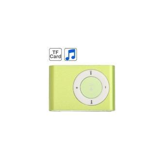 lecteur baladeur MP3 Vert Micro-SD Clip