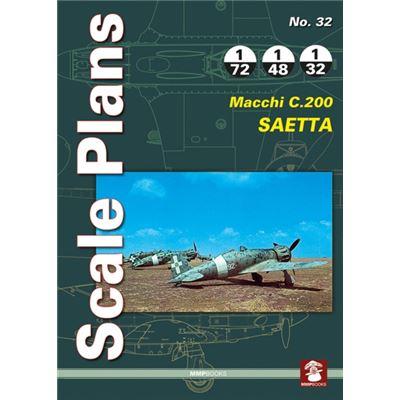 Scale Plans No. 32: Macchi C.200 Saetta (Paperback)