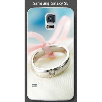 Coque Samsung Galaxy S5 design Anneau avec diamant