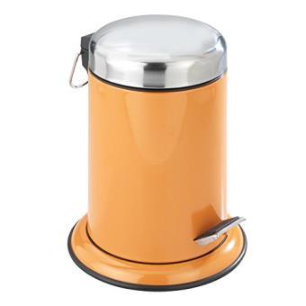 Incroyable Wenko 17904100 Poubelle Salle De Bain 3 L Retoro Orange   Achat U0026 Prix |  Fnac