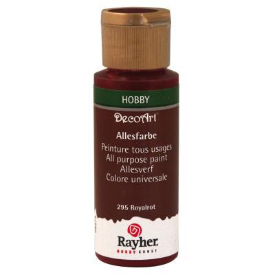 Peinture acrylique - Rouge royal - 59 ml
