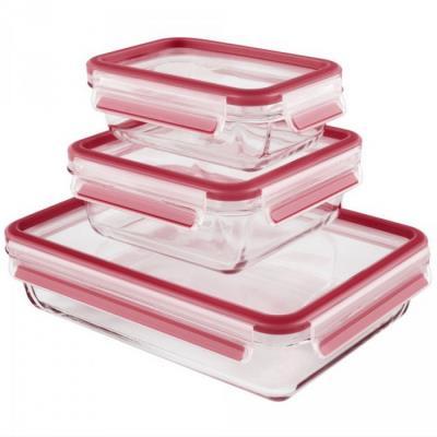 EMSA - 3 boîtes alimentaires 0,5l, 0,9l, 2l - 0000514168