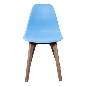 chaise scandinave bleu clair achat prix fnac - Chaises Scandinaves Bleu