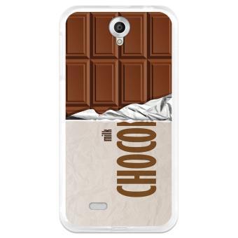 Coque Etui Housse Gel Tpu Lenovo A850 Tablette De Chocolat