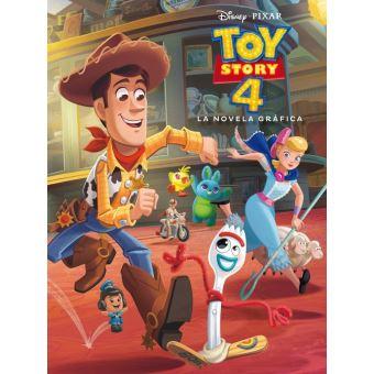 Toy story 4-la novela grafica
