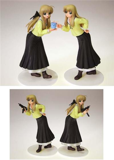 FUTAKOI ALTERNATIVE - Sara & Soju Shirogane 2pc Set Statue PVC