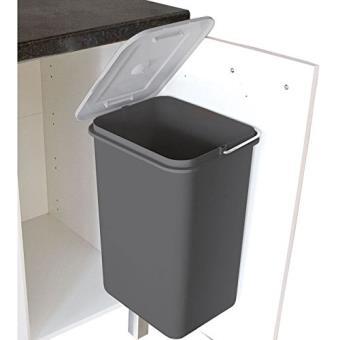 Nouveau Frandis - poubelle porte strada gris - Achat & prix   fnac DZ-92