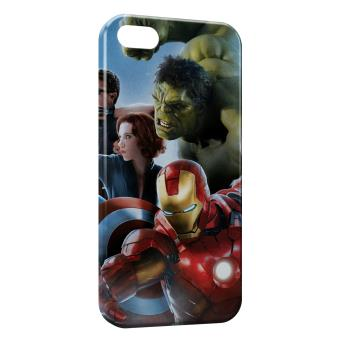 Coque iPhone 6S Marvel Iron Man Captain America Hulk