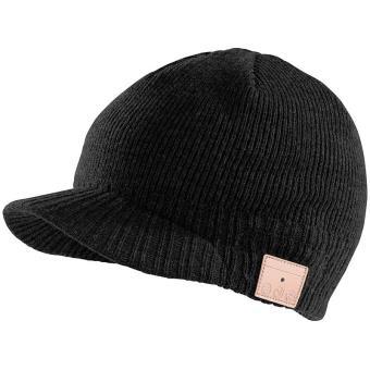 3e619b5805519 Bonnet à visière Bluetooth avec micro-casque intégré - Noir - Casque audio  - Achat & prix   fnac
