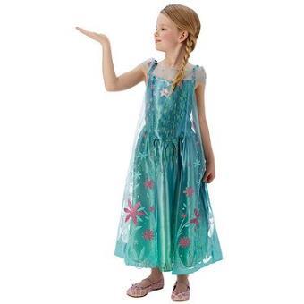 Disney - La Reine des Neiges   Une Fête Givrée - Déguisement Elsa - Taille  M 5-6 ans - Déguisement enfant - Achat   prix   fnac d9f6bdf2d42b