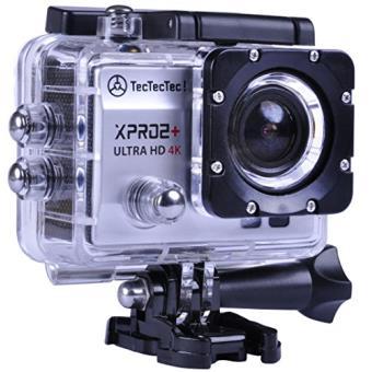 TecTecTec Caméra Sport XPRO2+ Ultra HD 4K Action Cam Wifi étanche