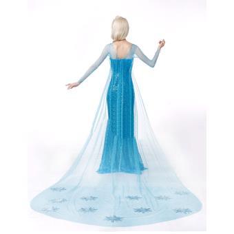 la reine des neiges robe elsa dguisement adulte achat prix fnac - Robe Anna Reine Des Neiges