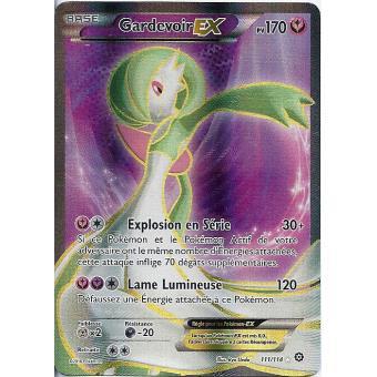 Carte pokemon xy11 offensive vapeur gardevoir pv 170 111 114 ex ultra rare full - Carte pokemon ex rare ...