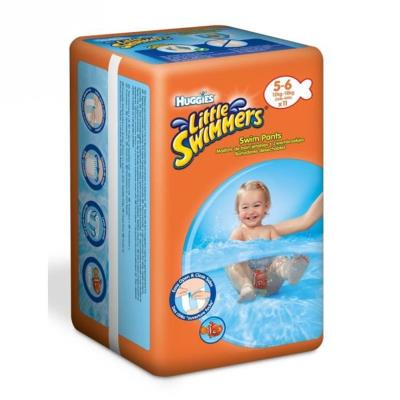 HUGGIES LITTLE SWIMMERS STANDARD TAILLE 5/6 (12-18 KG) X 11 CULOTTES