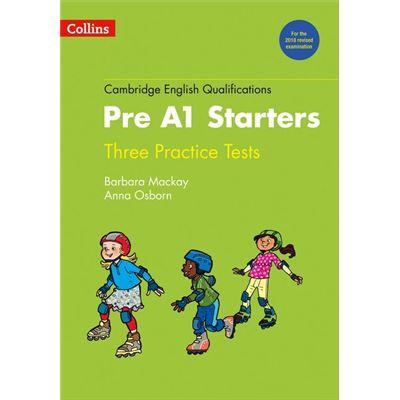 Collins Pre A1 Starters. Three Practice Tests [Livre en VO]