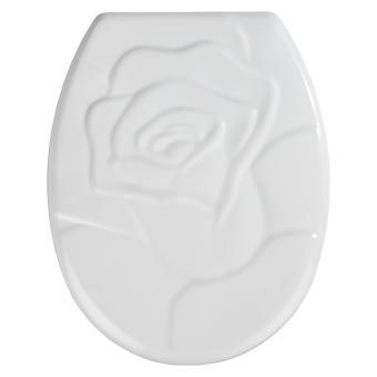 Abattant wc power-loc rose duroplast, blanc - blanc - Achat & prix ...