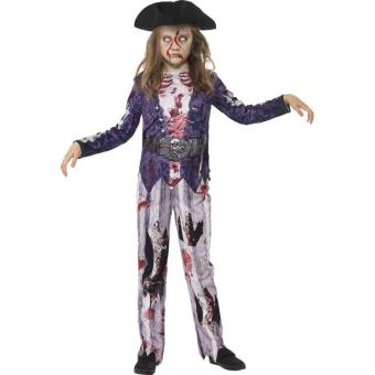 d guisement zombie pirate fille halloween 13 15 ans d guisement enfant achat prix fnac. Black Bedroom Furniture Sets. Home Design Ideas