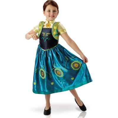 Disney - La Reine des Neiges : Une Fête Givrée - Déguisement Anna - Taille M 5-6 ans