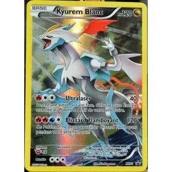Carte pok mon xy81 kyurem blanc 120 pv full art promo - Pokemon kyurem blanc ...