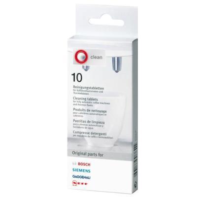 Tablettes de nettoyage 10 p.