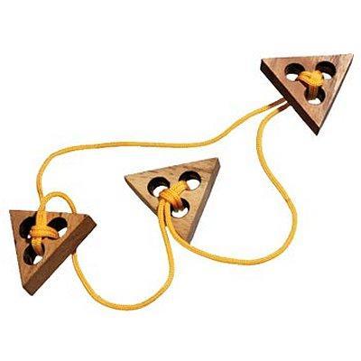 Casse-tête en bois - Triple Triangle
