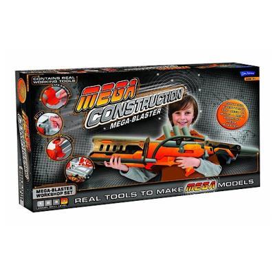 Mega Construction – Mega Blaster – Kit de Fabrication de Fusil à Fléchettes en Mouse