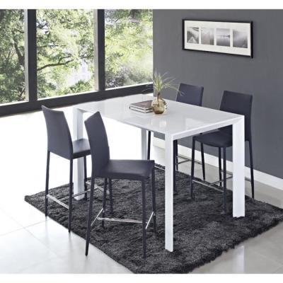 Table PrixFnac Extensible 90140cm Amoro Haute Laquée Blanc Achatamp; qMUSzpVG