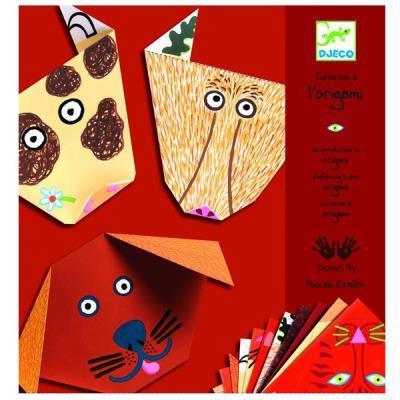 Origami Djeco animaux Pliage papier loisirs créatifs Enfants 4 à 10 ans