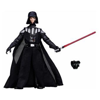 Figurine star wars the black series dark vador avec visage de luke skywalker hasbro - Visage de dark vador ...