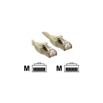 Lindy verbindingskabel - 50 cm - grijs