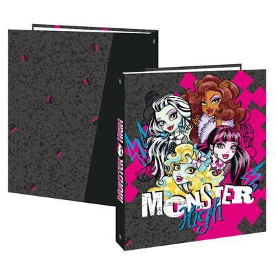 Classeur carton 4 cm Monster High