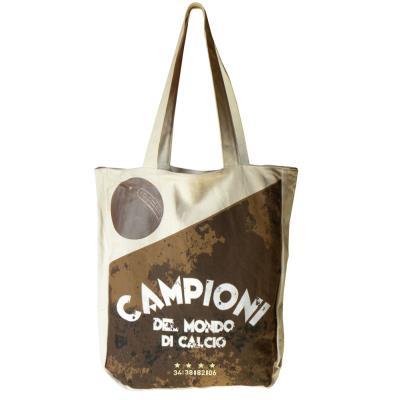 Sac shopping FIGC beige
