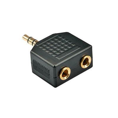 Adaptateur audio Jack 3,5mm M vers 2x3,5mm F