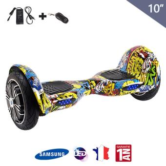 hoverboard 10 pouces tout terrain gyropode achat. Black Bedroom Furniture Sets. Home Design Ideas