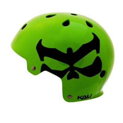 Kali protectives maha néon casque vélo bmx vert xs