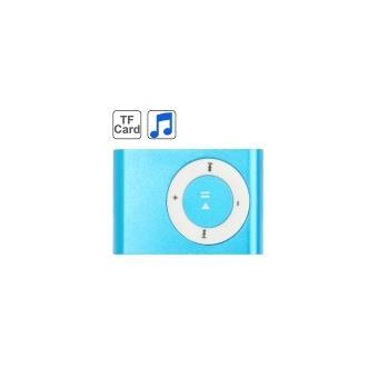 lecteur baladeur MP3 Bleu Micro-SD Clip